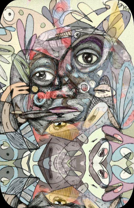 El principio de la baraja. Luis Ricardo Ramos. #arte El principio de la baraja. | by LuisRicardo