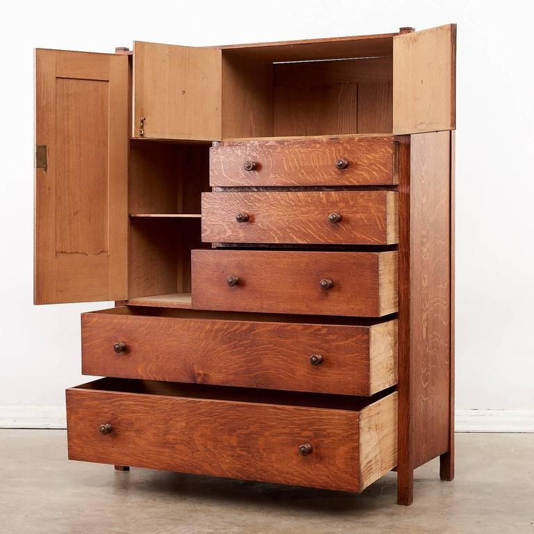 Arts And Crafts Oak Chest Of Drawers Arts Crafts Style Furniture
