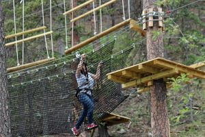 Ropes Course in Keystone, South Dakota