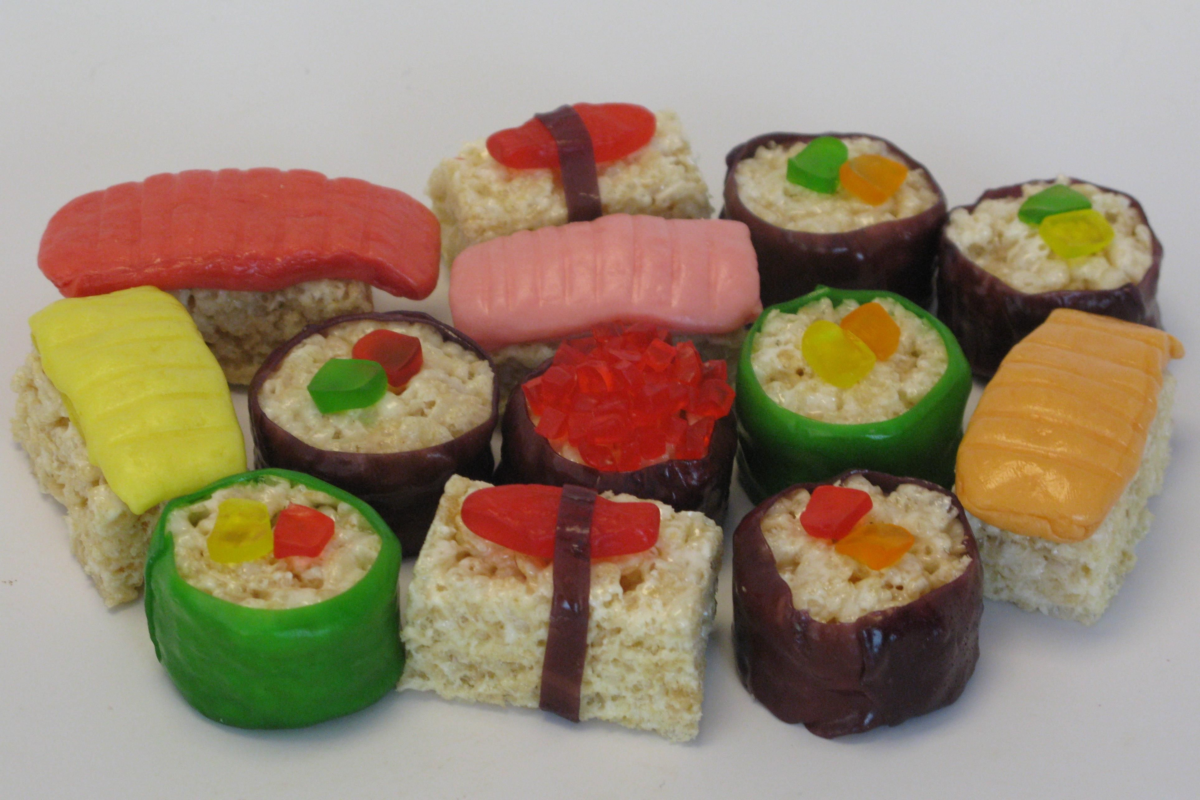 Candy Sushi!  Made with rice krispie treats, fruit roll ups, starbursts, Swedish fish, and gummy worms. #candysushi Candy Sushi!  Made with rice krispie treats, fruit roll ups, starbursts, Swedish fish, and gummy worms. #candysushi Candy Sushi!  Made with rice krispie treats, fruit roll ups, starbursts, Swedish fish, and gummy worms. #candysushi Candy Sushi!  Made with rice krispie treats, fruit roll ups, starbursts, Swedish fish, and gummy worms. #candysushi Candy Sushi!  Made with rice krispie #candysushi