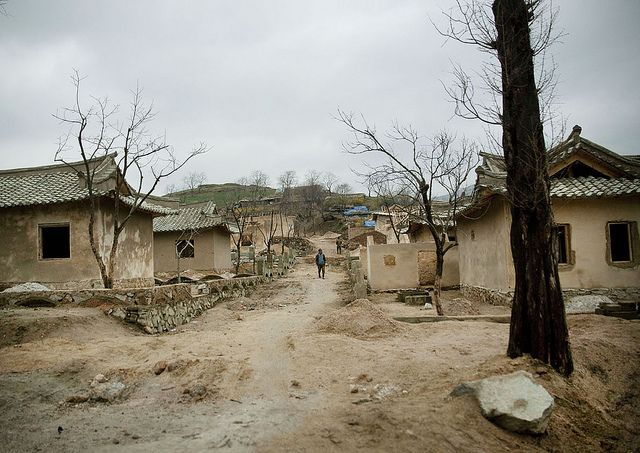 Houses Under Construction Kaesong Area North Korea Life In North