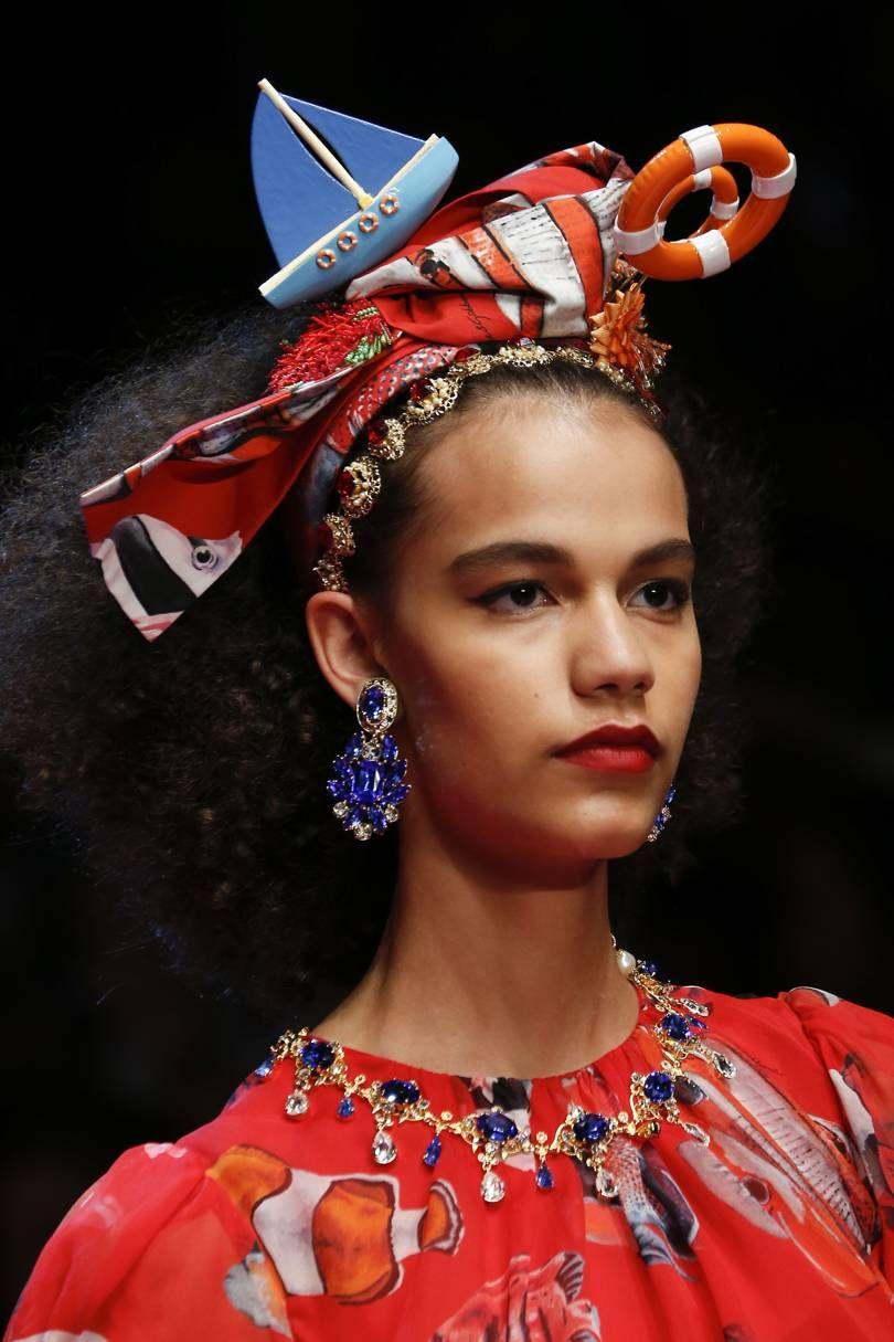 Nose piercing trends 2018  Dolce u Gabbana SpringSummer  Ready To Wear  Accessoriesilove