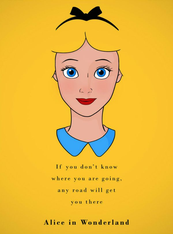 Frase Alice Ilustrador Ben Harman Frases Disney