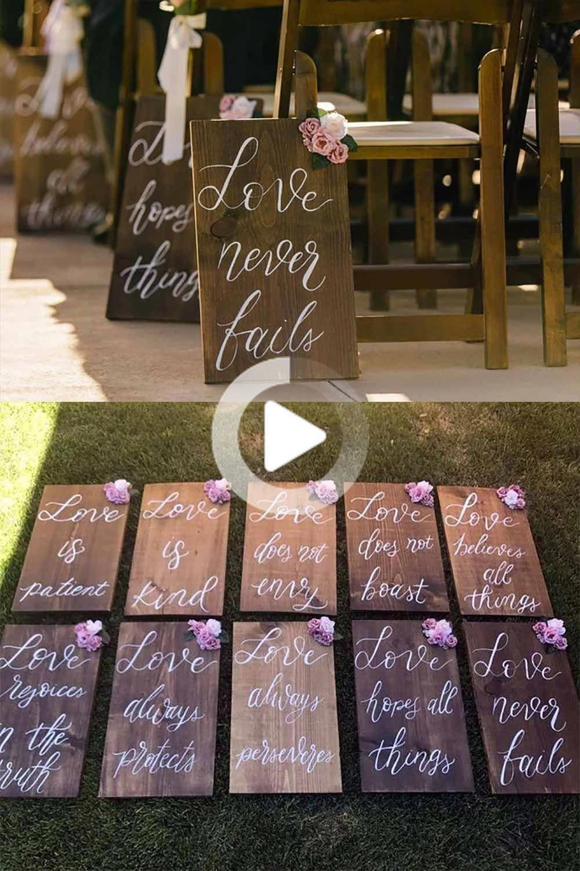 Verso De La Biblia Pasillo De La Boda O La Recepcion De Decoracion 8 Signos 9 X 12 In 2020 Diy Wedding Decorations Wedding Planning Book Wedding Signs