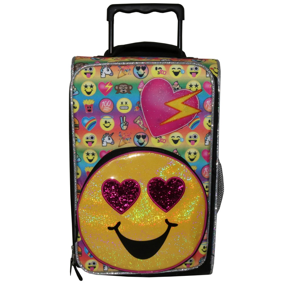 065d995b86 Emojination 18 Emojis On The Go Kids  Suitcase - Yellow