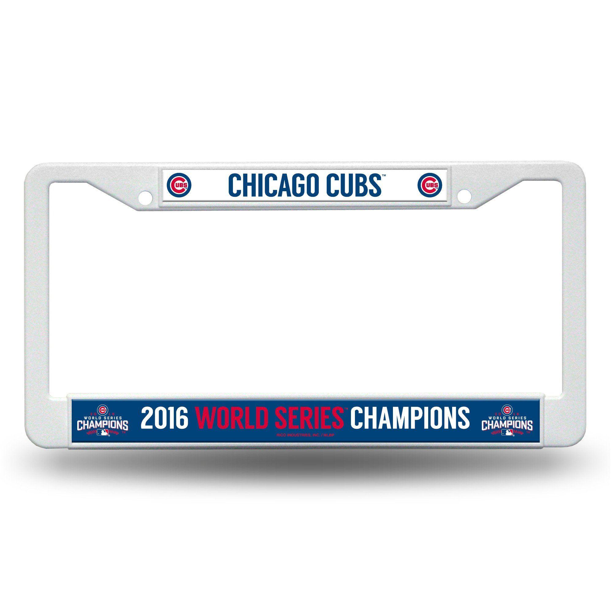 Excelente Chicago Cubs Marco De La Matrícula Ornamento - Ideas ...