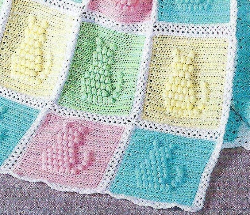 Baby Blanket Crochet Pattern Afghan Cover \