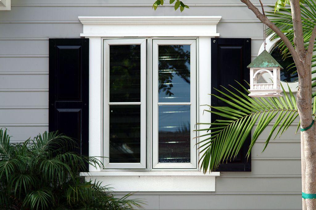 Azek Moulding Window Trim Exterior Outdoor Window Trim Facade House