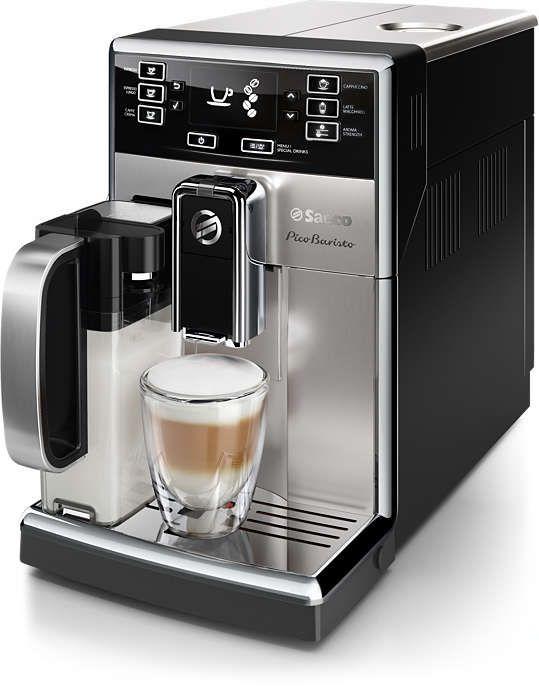 купить Saeco Saeco Picobaristo автоматическая кофемашина Hd8928 09 автоматическая кофемашина эспрессо машина кофеварка латте макиато