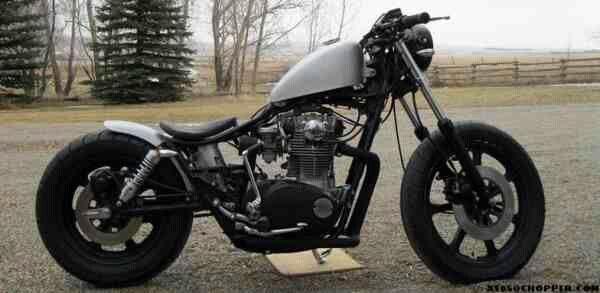 Xs650 Brat Style Bobber