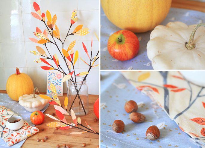 Ambiance d'automne et nature morte par Adeline klam