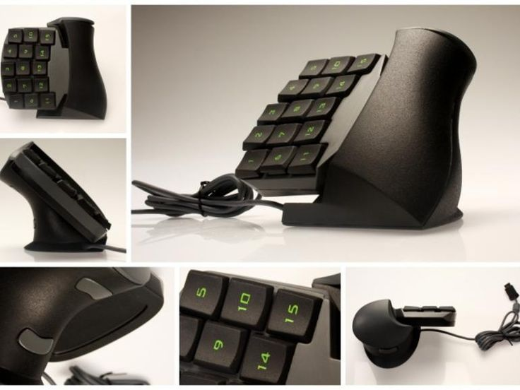 Check out these cool gadgets including an ergonomic gaming keypad