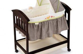 Summer Infant Classic Comfort Wood Bassinet, Fox and Friends, Espresso Stain. http://organiccribmattress.info/