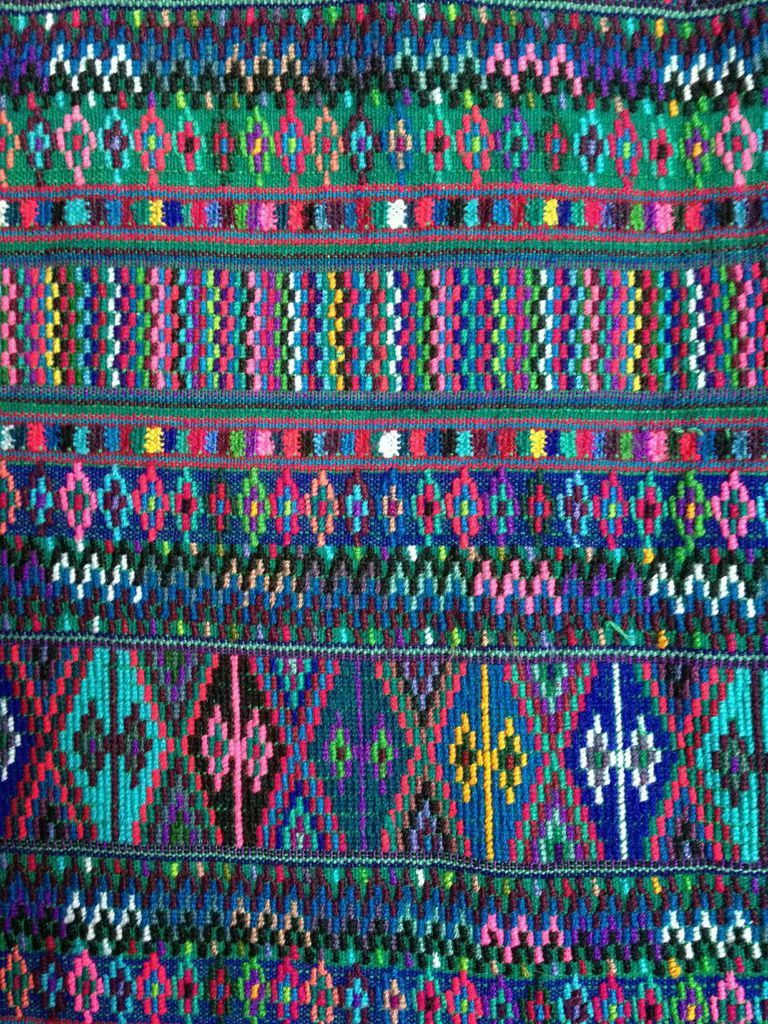 A Beautiful Textile From Guatemala An Amazing Palette Of Colors Teysha