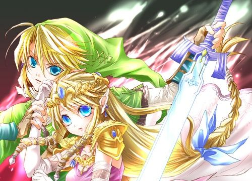 link and navi zelda pinterest fanart and video games - Link Et Zelda