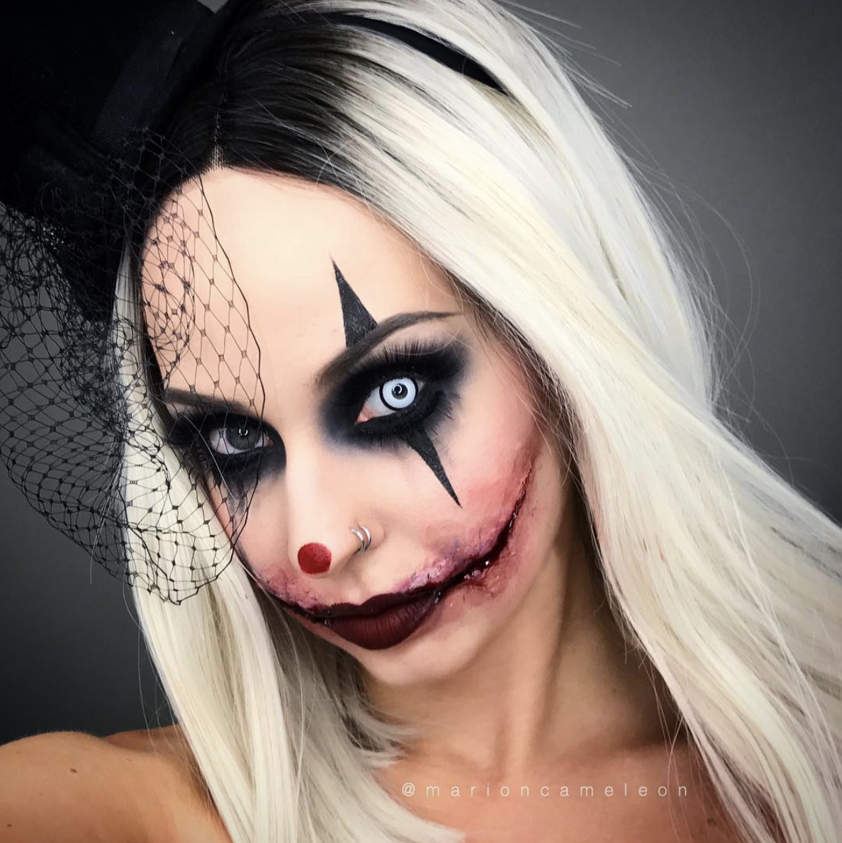 Maquillage Artistique Halloween.By Marion Cameleon Maquillage Halloween Maquillage Artistique Maquillage
