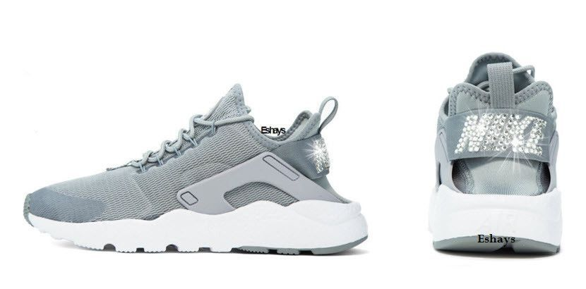 Crystal Nike Air Huarache Ultra Gray  69bb6e815