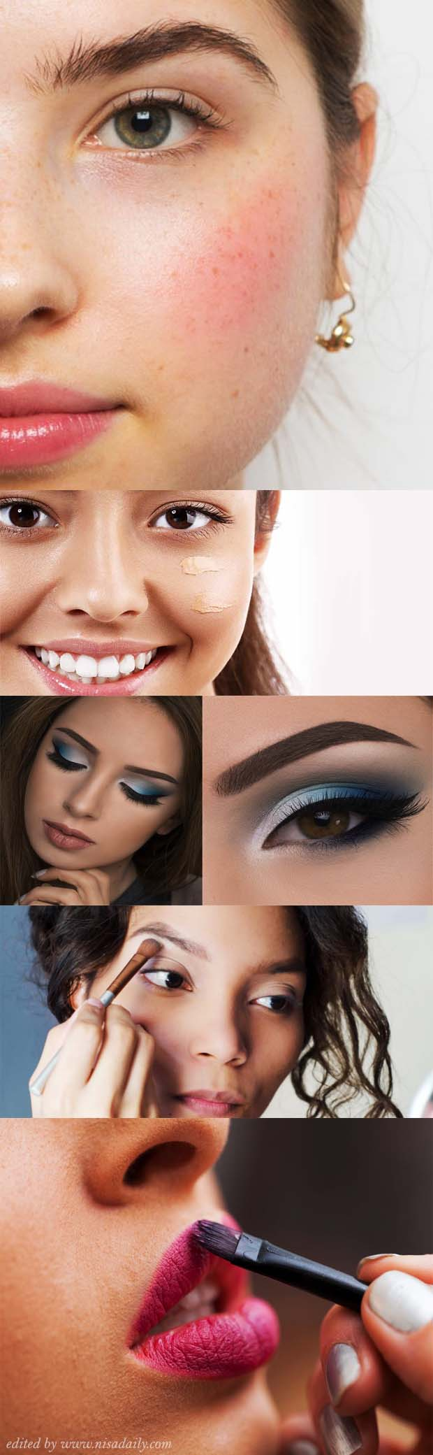 Photo of Simple Makeup Tricks For Beginners Step by Step to Bring Out Your Cool Skin | Nisadaily.com