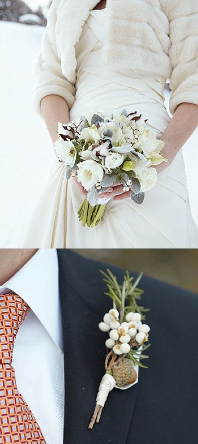 Image detail for -... weddings 2 white bouquet the knot 3 winter couple 2 green wedding