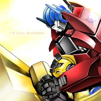 I'm sorry  BumbleBee  by Lanveril on deviantART | TRANSFORMERS