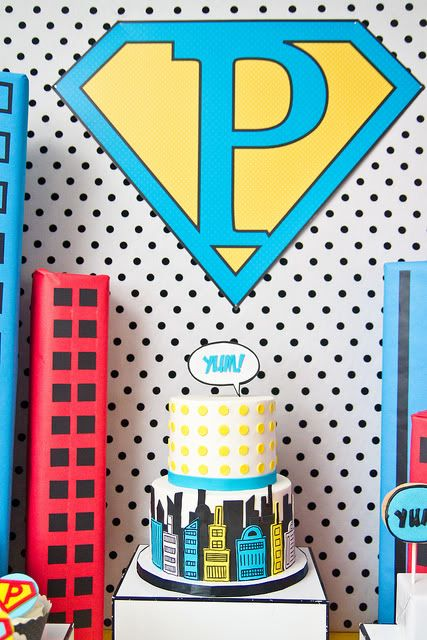 Fabulous superhero party pictures and ideas!