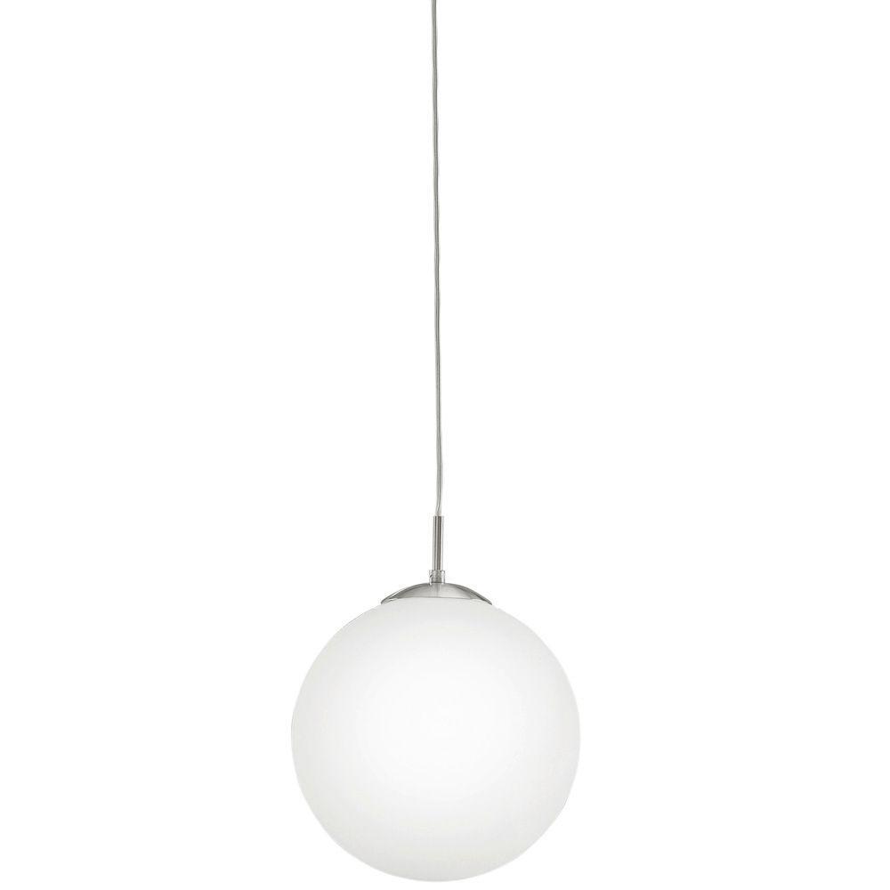 Eglo Rondo 2 Satin Nickel Led Hanging Light Lighting