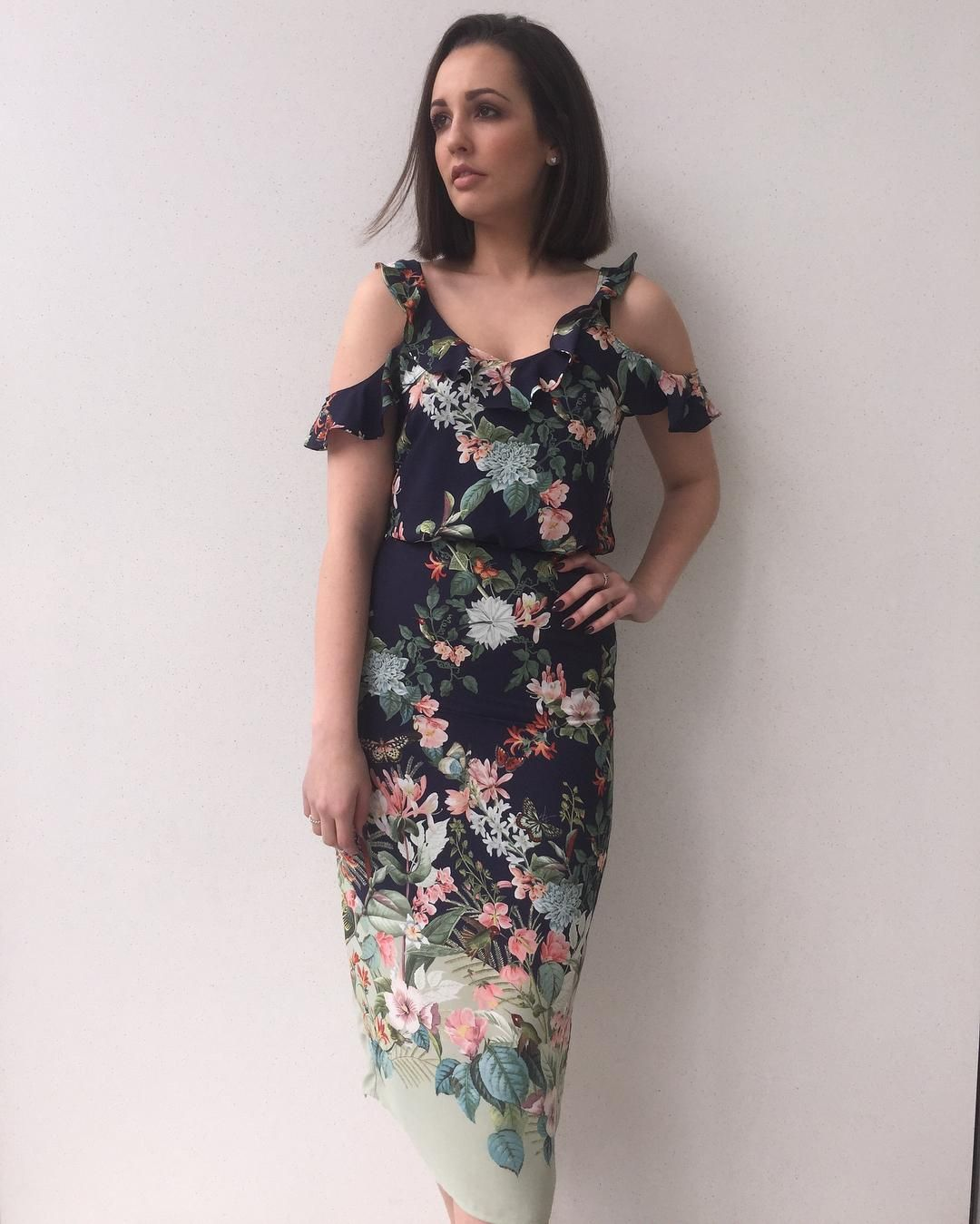 25cda503945d Our Fitzwilliam Frill Dress, featured by @oasis_liverpool on Instagram.  Click the selfie to shop the look #oasisfashion