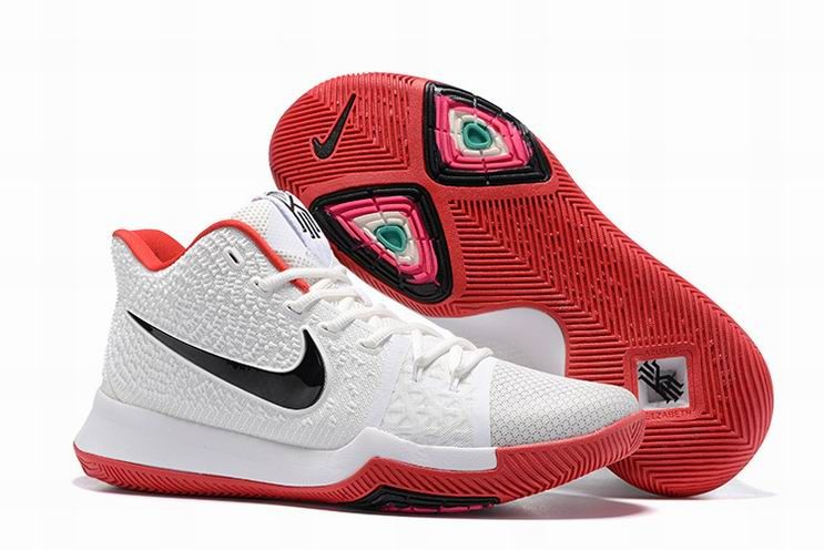 super popular 496e7 6083c Discover the Nike Kyrie 3 White Red Black Online group at Yeezyboost. Shop Nike  Kyrie 3 White Red Black Online black, grey, blue and more.