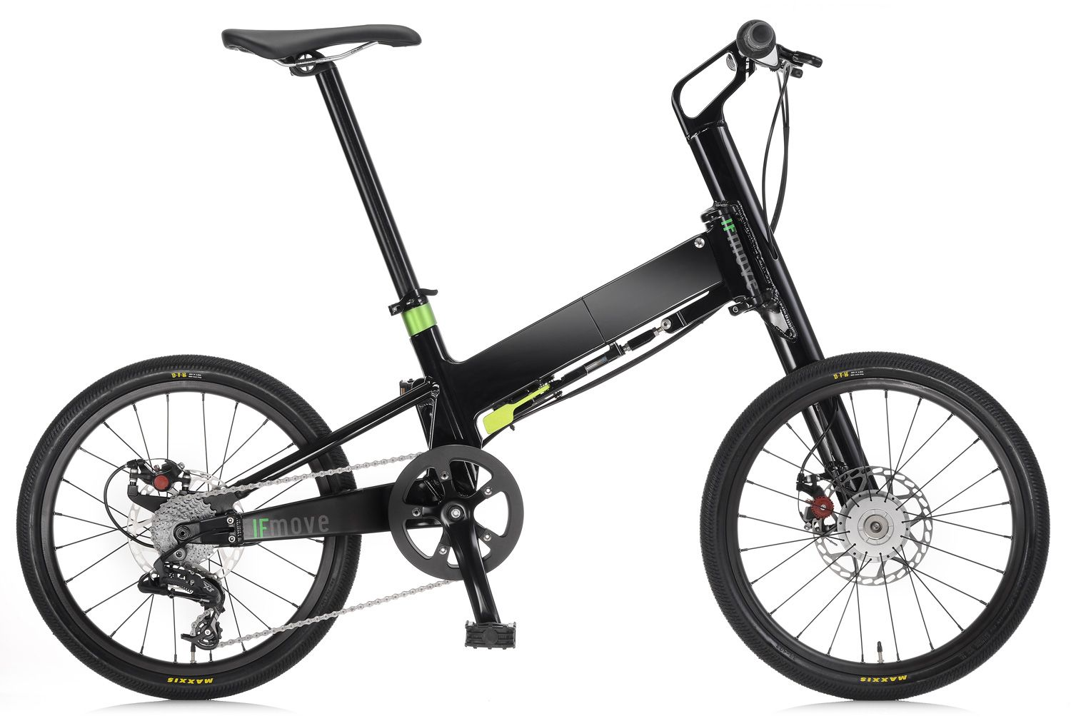 Pacific Cycles Ifmove Aluminum Folding Bike With Single Side Arm