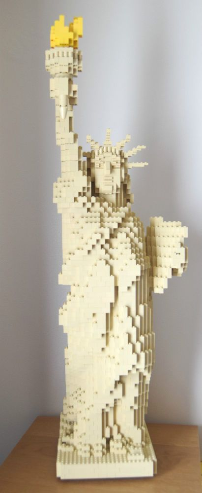 Lego statue of liberty 3450 | Lego website and Lego