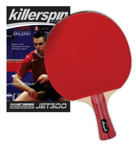 Killerspin 110 03 Jet 300 Table Tennis Racket By Killerspin 29 63 Amazon Com The Jet 300 Table Tennis Racket Table Tennis Table Tennis Rubber