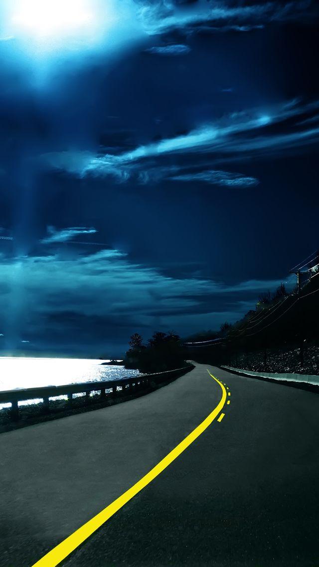 Beautiful road hd wallpaper