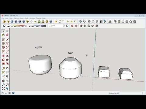 This Sketchup Tutorial Is How To Make Chamfer And Fillet Edges