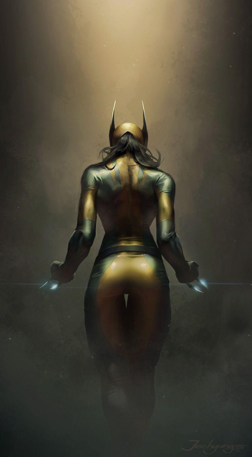 X-23, JeeHyung lee on ArtStation at https://www.artstation.com/artwork/x-23-7