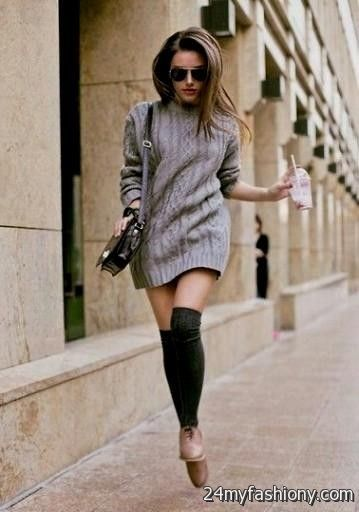 sweater dress outfits pinterest looks