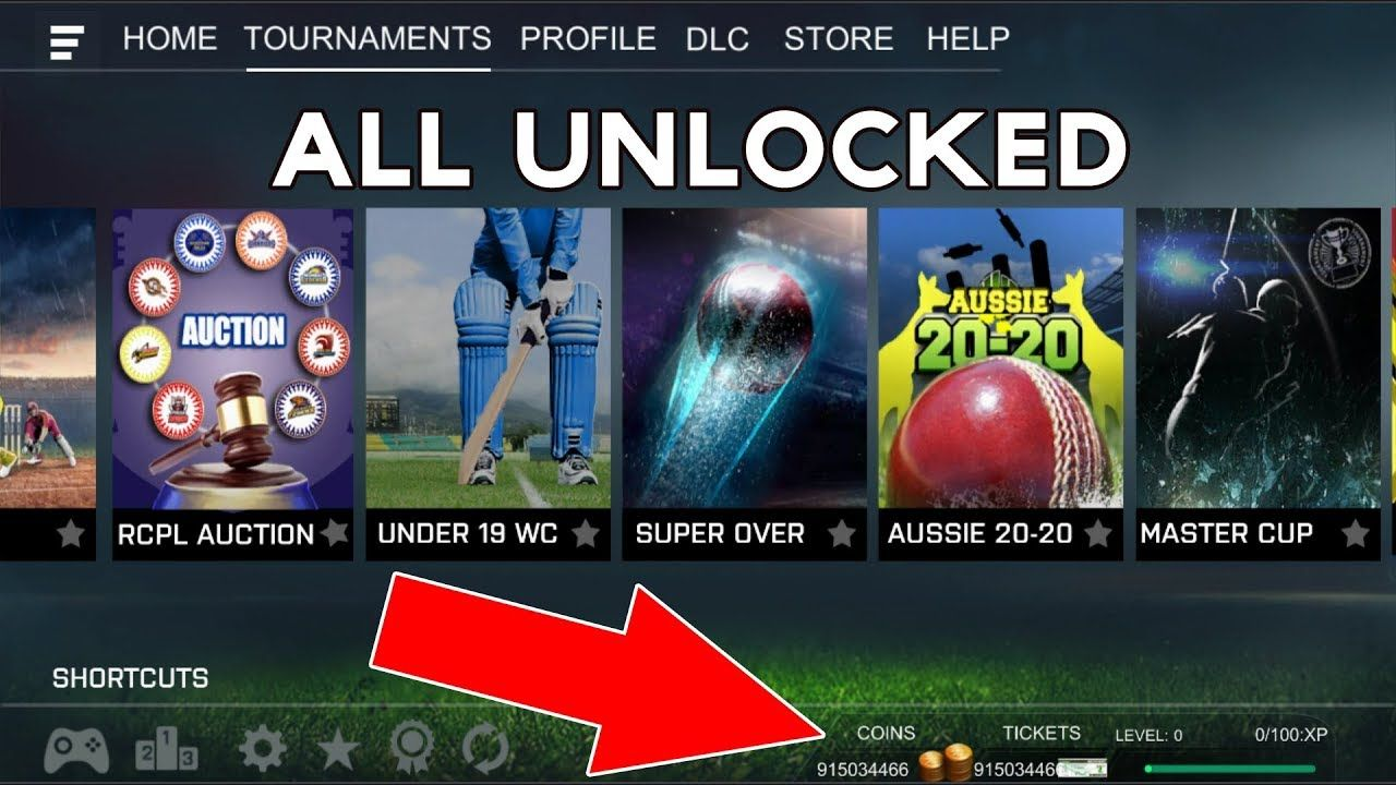 Real Cricket 18 Mod APK - Unlimited Coins & Tickets