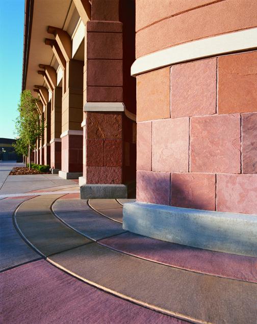 Colorado Mills Scofield Decorative Concrete Loving The Bright Colors Concrete Coatings Concrete Decor Concrete