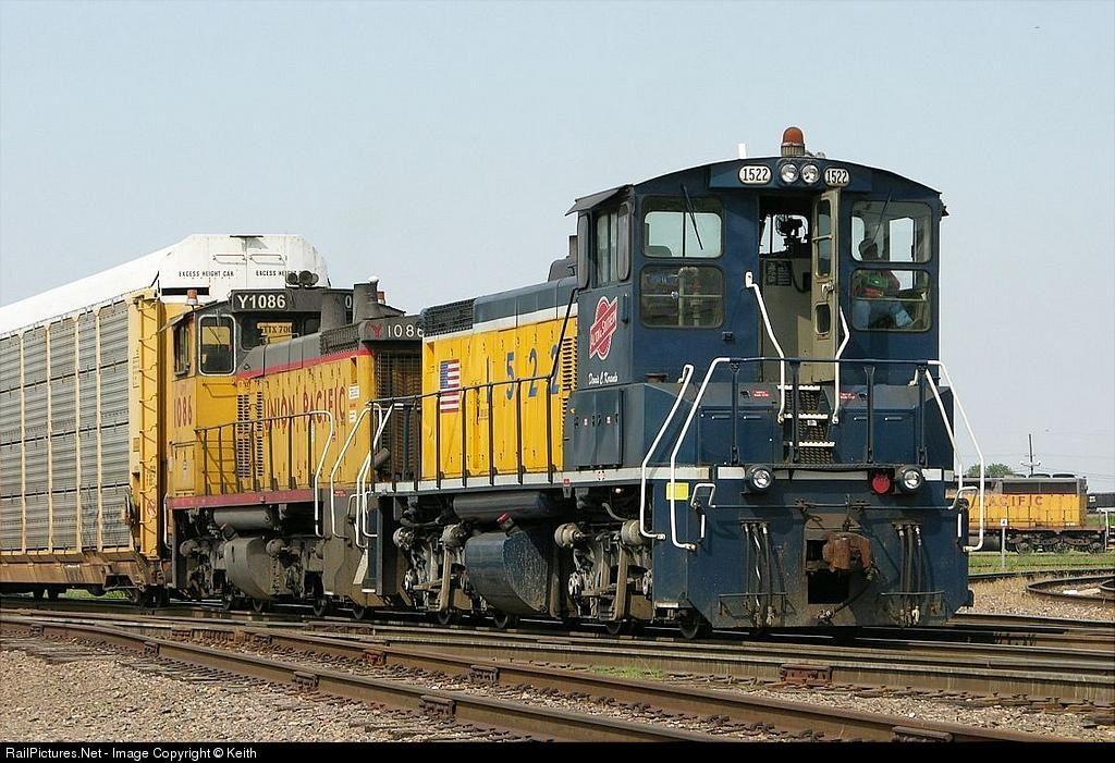 RailPictures.Net Photo: ALS 1522 Alton & Southern Railway EMD MP15DC at Alorton, Illinois by Keith