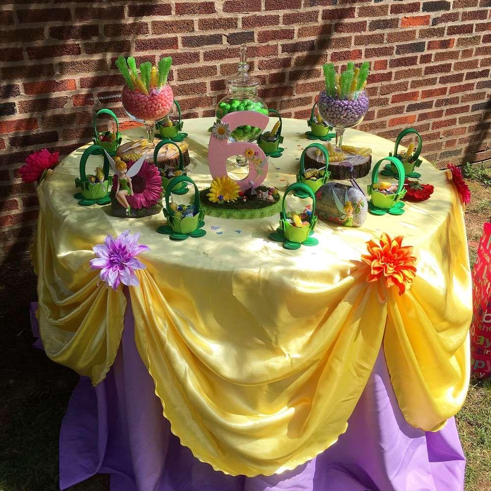 Tinkerbell Birthday Party Ideas | Fairy birthday