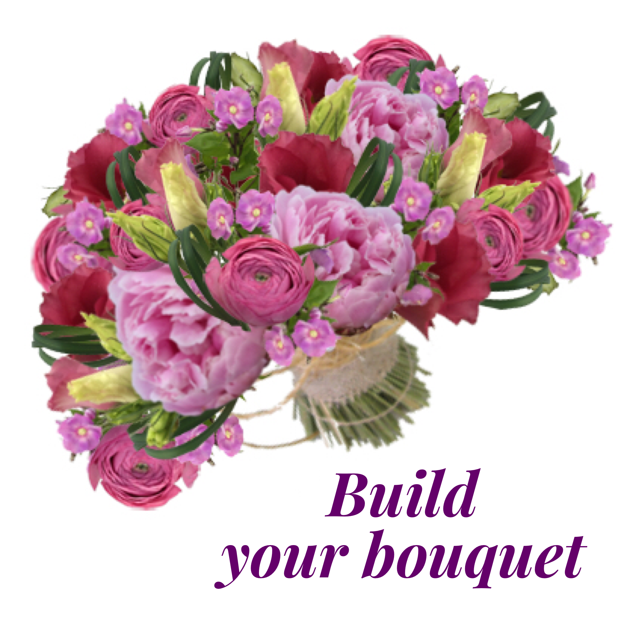 Build Your Own Bouquet Online With