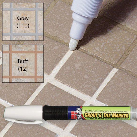grout aide marker soluciones para el hogar pinterest grout