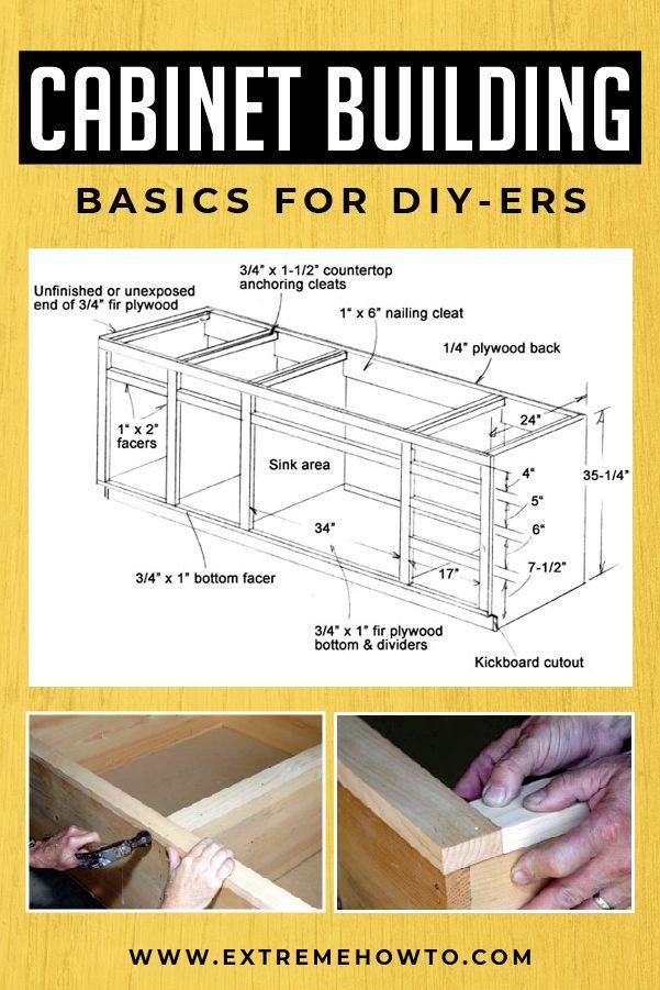 Cabinet Building Basics for DIY Kitchen Remodeling | DIY Home Improvements | House Renovations -  Cabinet Building Basics for DIY Kitchen Remodeling | DIY Home Improvements | House Renovations | Le - #Basics #building #Cabinet #DIY #DIYAndHomeImprovementcrafts #DIYAndHomeImprovementdecor #DIYAndHomeImprovementhowtobuild #DIYAndHomeImprovementideas #Home #House #improvements #Kitchen #remodeling #Renovations