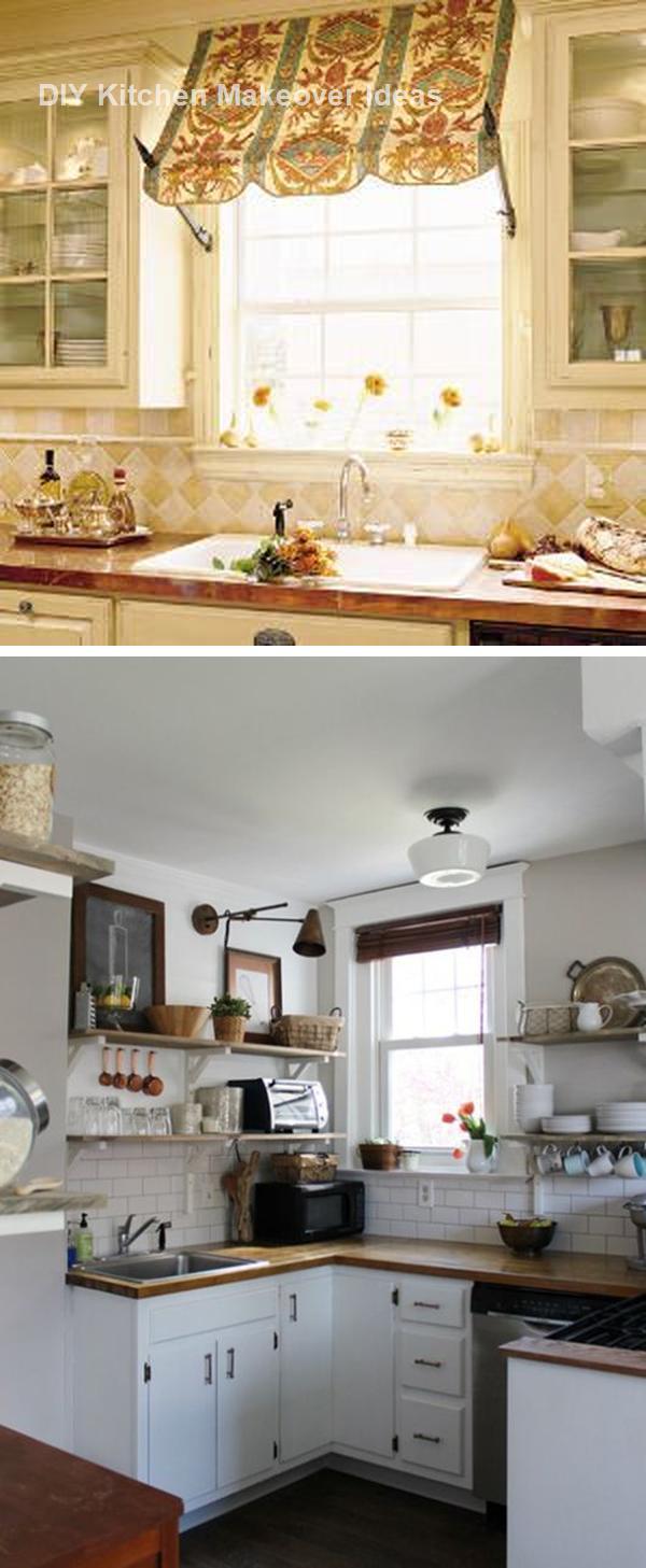 16 awesome ideas for kitchen makeovers kitchenideas kitchen decor diy countertops on kitchen makeover ideas id=41882