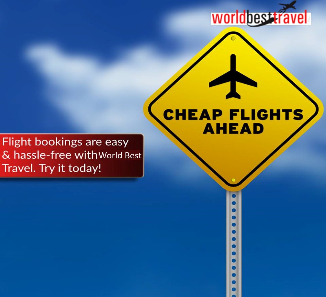 Flight bookings are easy and hasslefree with world best