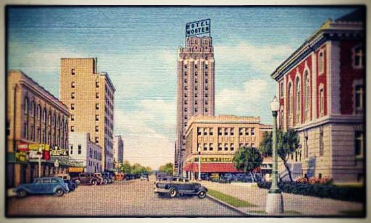 AbileneTexan Photo of the Day: Vintage Downtown Abilene