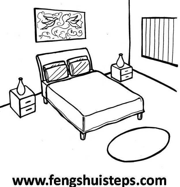 Easy Feng Shui Steps The Master Bedroom Part 1 Simple Bed Simple Bedroom Easy Drawings