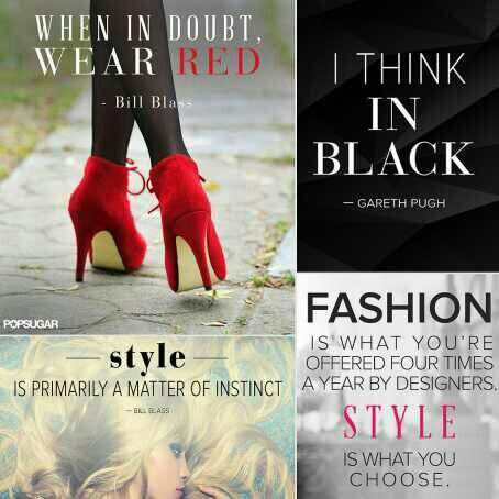 Cool fashion quotes
