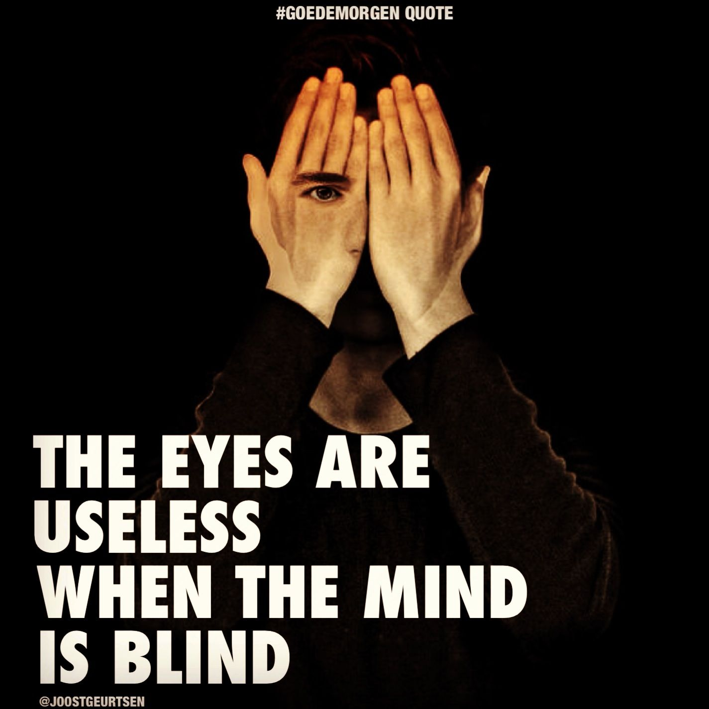 "Blind Quotes: ""The Eyes Are Useless When The Mind Is Blind."""
