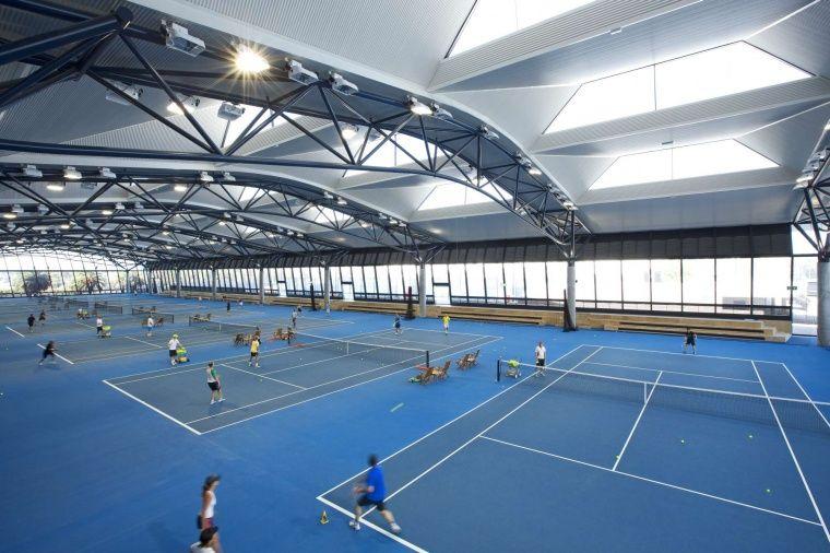 Tennis Courts Căutare Google Indoor Tennis Tennis Court Outdoor Basketball Court