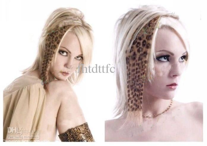 Stylish Leopard Print Clip In Hair Extensionanimal Print Hair20